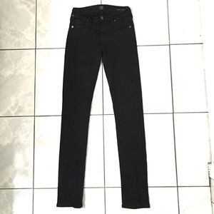 Citizens Of Humanity Avedon Womans Black Jeans
